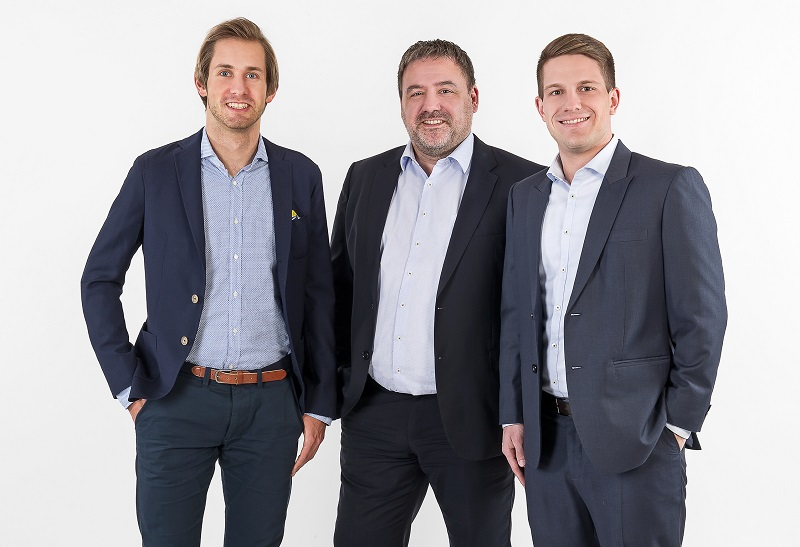 Benjamin Andermatt, Helmut Mettler, Manuel Eberle